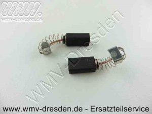 Kohlebuerstenpaar (8 x 5 mm, 14 mm lang, mit Litze, Feder und Schlusskappe, Litze und Feder ca. 13 mm lang) - (Art.Nr. 4931392609-T01)