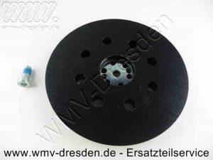 Schleifteller Klettverschluss, 125 mm, 8 Absauglöcher ohne Befestigungsschraube - (Art.Nr. 2608601902)