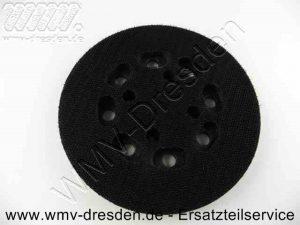 Klett-Schleifteller D 125 mm >>> rund <<< - (Art.Nr. 587295-01) DeWalt